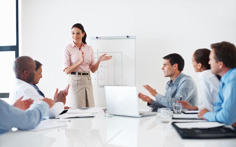 réunion de l'entreprise
